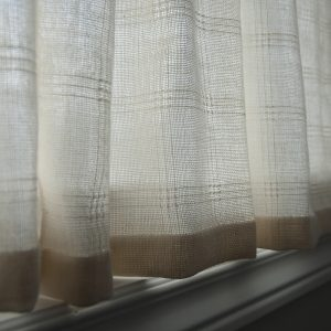studio curtains weaving project