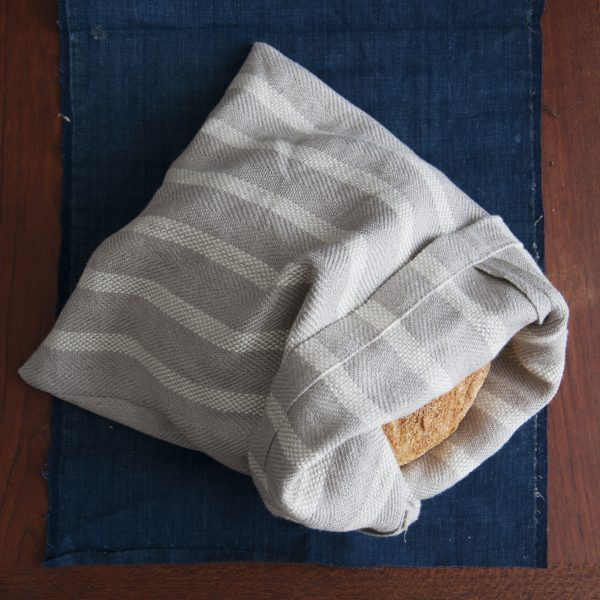 Linen Bread Bag weaving pattern